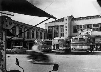 西大寺市駅(1962[昭和37]年頃)