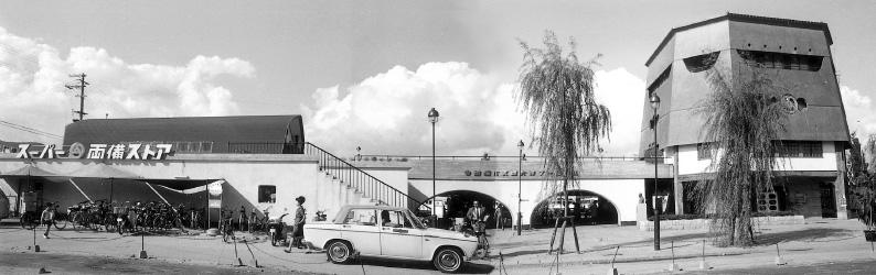 西大寺バスターミナル(1966年[昭和41]年)