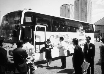 東京ディズニーランド専用バス「シンデレラエクスプレス」改装(1996[平成8]年)
