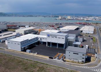 両備テクノ製造・整備工場「倉敷工場」完成(2017[平成29]年)