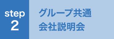 STEP2 グループ共通会社説明会