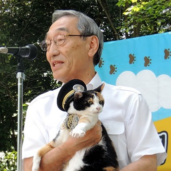 たま駅長が初社長代理業務に参加!- 第7回貴志川線祭り –
