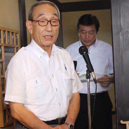 たま神社建立と「たまⅡ世駅長」誕生! - ニタマ駅長が襲名 -