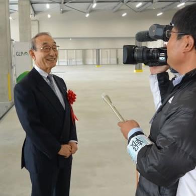 岡山総社IC流通センターGLP向け二期工事竣工!