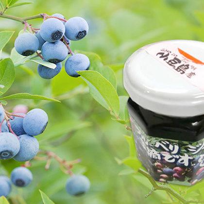 小豆島産自然食品の逸品、サルボ両備のブルーベリージャム