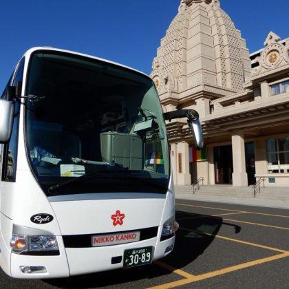 ニッコー観光バス 新しいバスが仲間入り!
