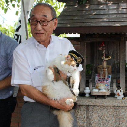 たま大明神 鎮座2周年記念<br> ― 「たま名誉永久駅長 招き猫」販売開始 ―