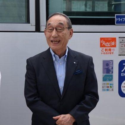 日本初!「スカイビューバス」 路線に登場!