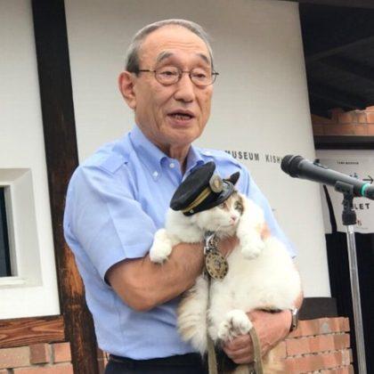 「たま駅長」大明神鎮座3周年メモリアル写真展開催!