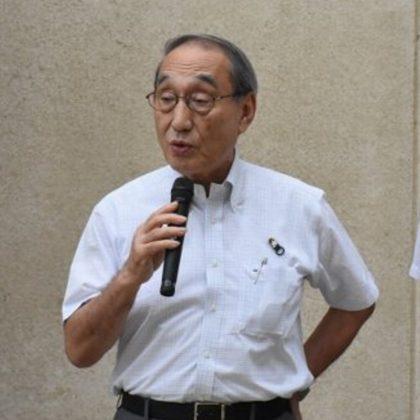 岡山市芳明小学校に雨水貯留タンクを寄贈