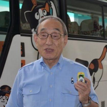 「岡山エクスプレス津山号」5周年記念に「たまバス」が登場!