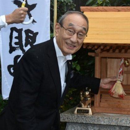 グレースタワーⅢのポケットパークに「たま神社」の分社!