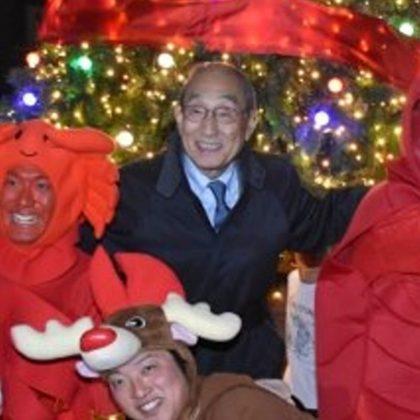 妹尾駅前広場 クリスマスイルミネーション点灯式2018開催!