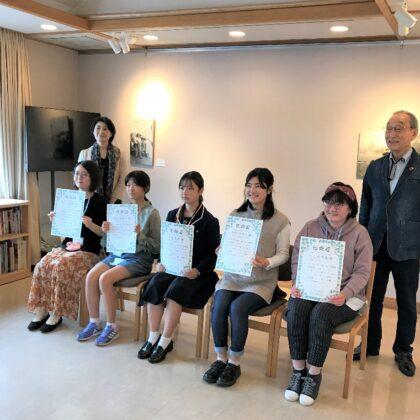 夢二郷土美術館こども学芸員が第10期を迎える!